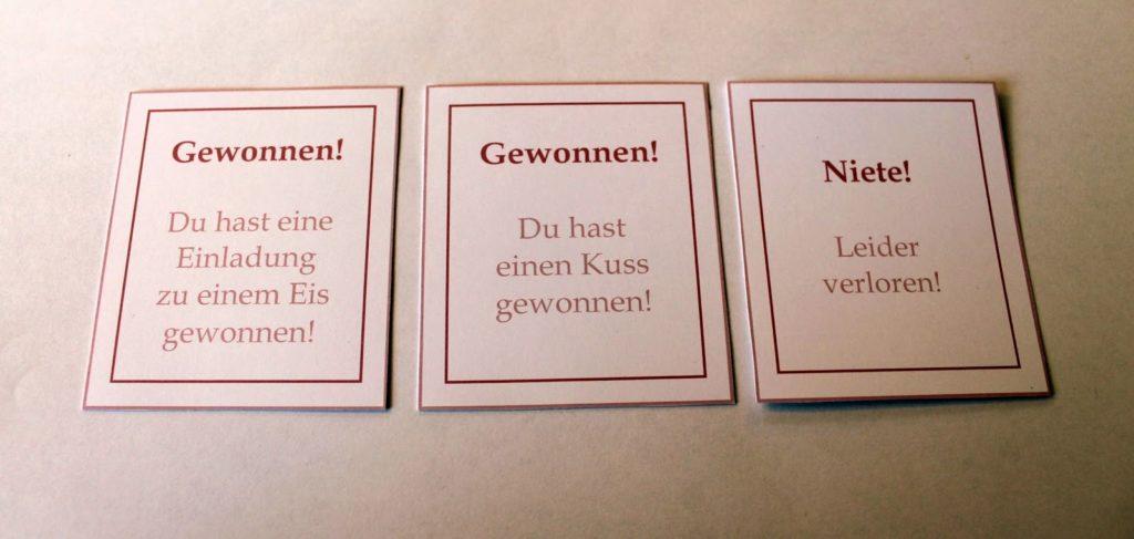 DIY, Basteln: Rubbellose selbermachen in Liebesgeschenk, Geschenkideen - DIYCarinchen
