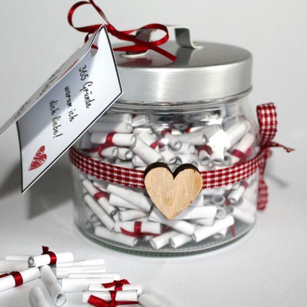Die perfekte Geschenkidee: DIY 365 Gründe warum ich dich liebe! selber machen