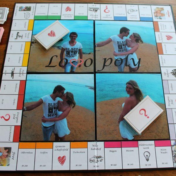 DIY Monopoly (Lovopoly) einfach selber machen