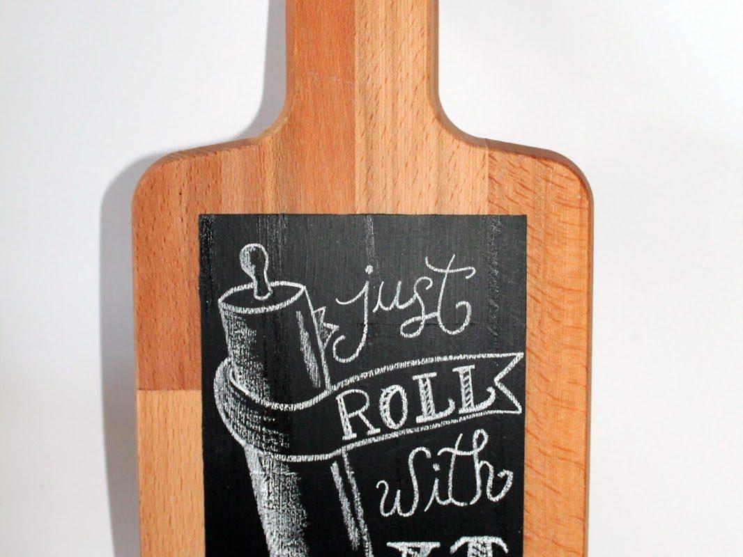DIY Memoboard Tafellack einfach seler machen!