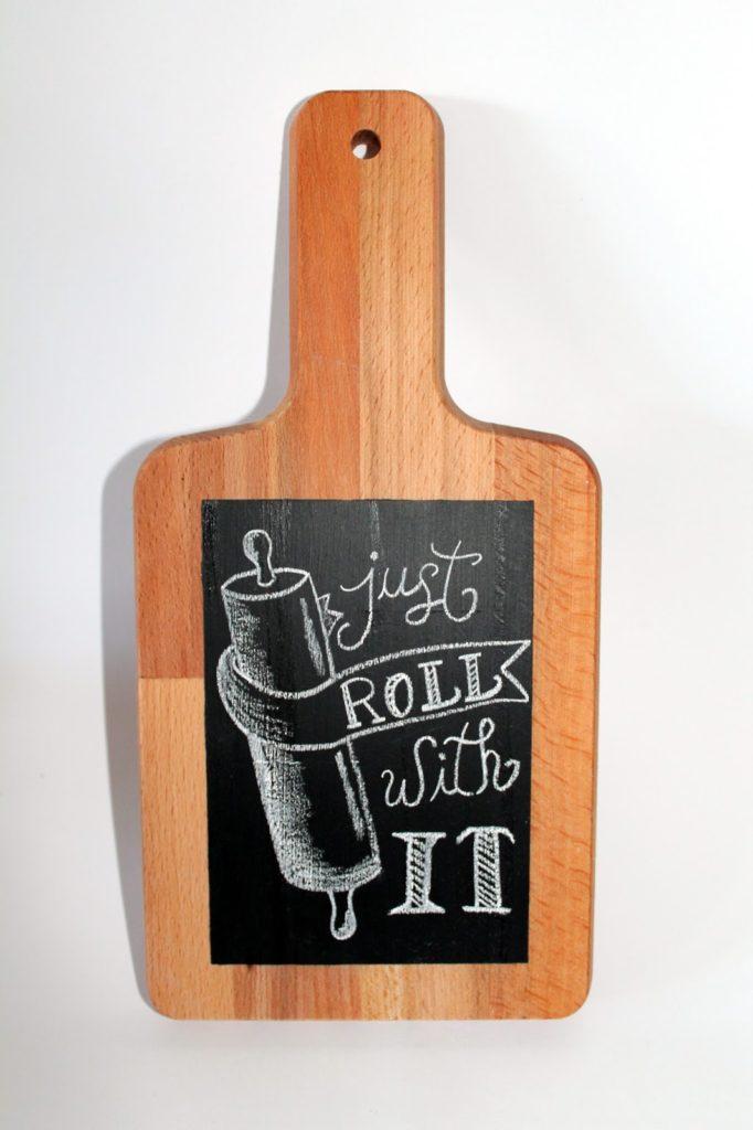 DIY, Basteln: Memoboard Tafellack in Geschenke aus der Küche und Wohndekoration - DIYCarinchen
