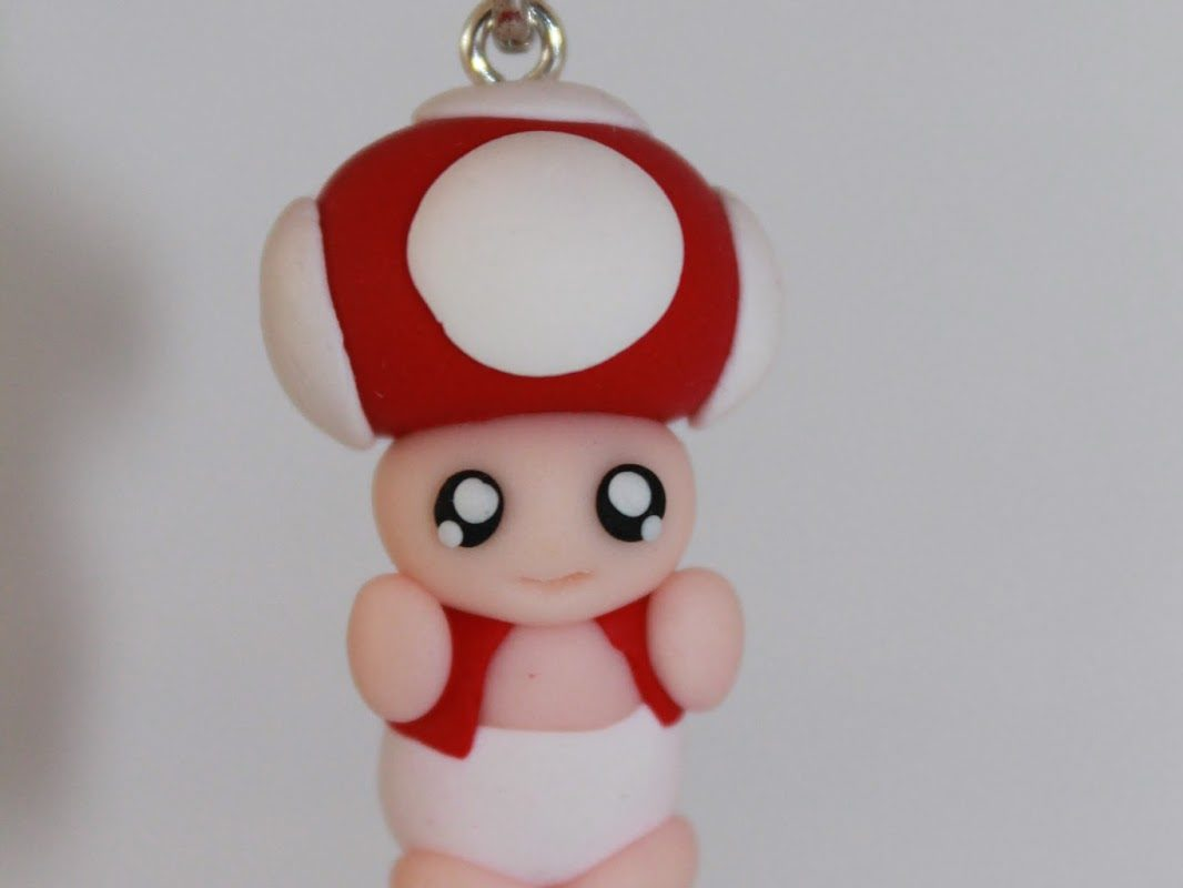 DIY Fimo / Polymer Clay Toad einfach selber machen