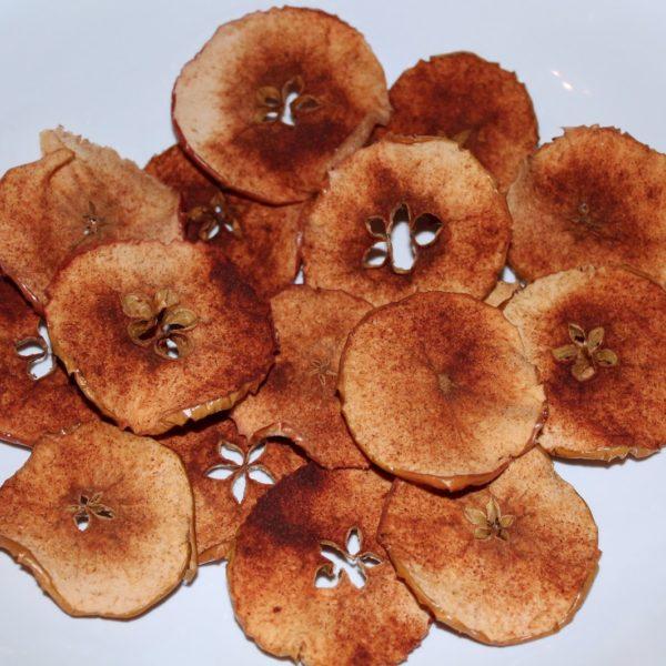 DIY Apfel-Zimt-Chips einfach selber machen - leckeres Rezept