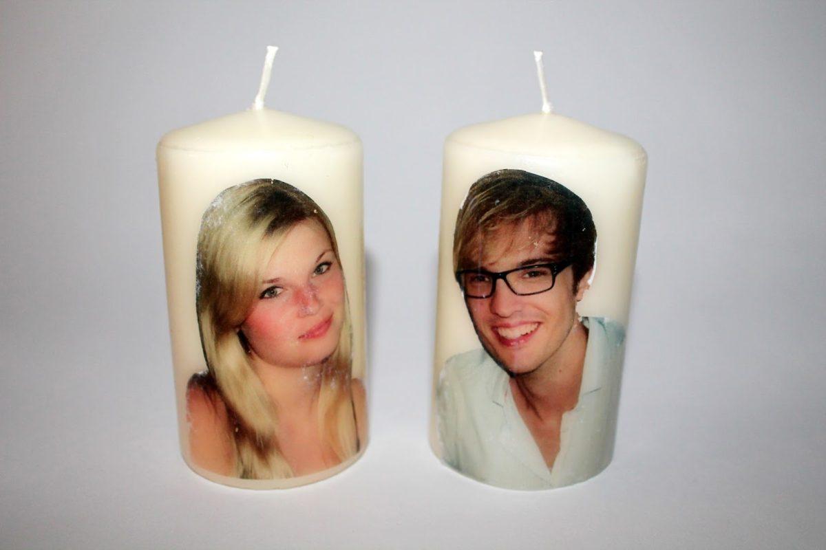 DIY Foto Transfer Potch Kerzen ganz einfach selber machen