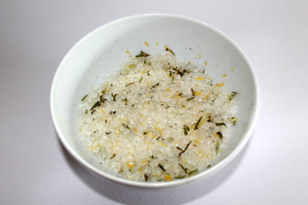 DIY, Basteln: Geschenke aus der Küche Rosmarin - Zitronen - Salz, Food - DIYCarinchen