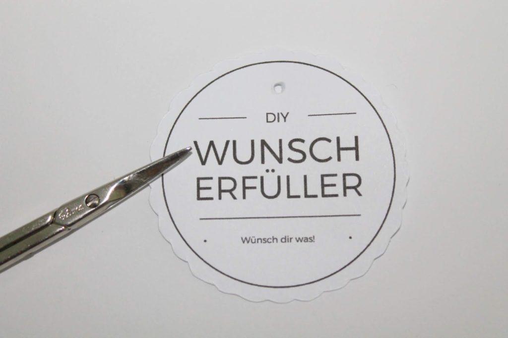 DIY Geschenk im Glas: Wunscherfüller Pusteblume selber machen + Free Printable
