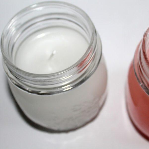 DIY Duftkerzen in Einmachgläsern