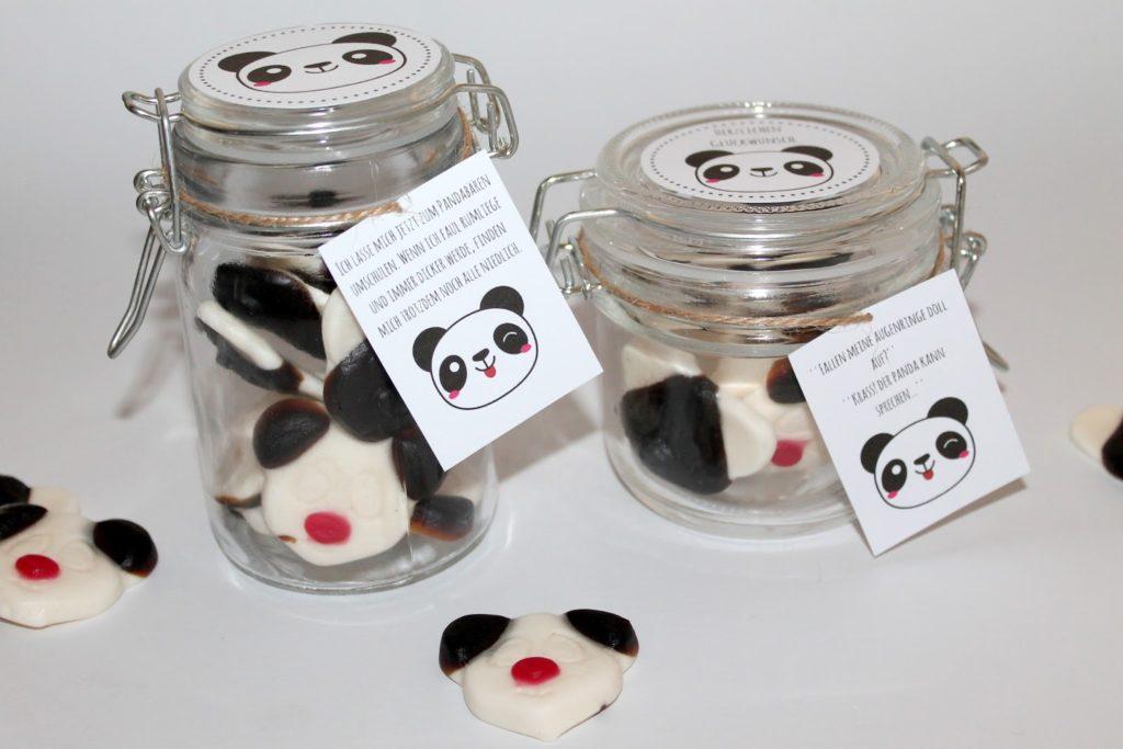 Diy Geschenke Aus Dem Glas Pandabaren Ganz Einfach Selber Machen
