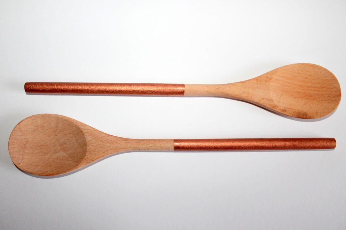 DIY Kitchen Hack Anleitung zum Kochlöffel / Holzlöffel verschönern