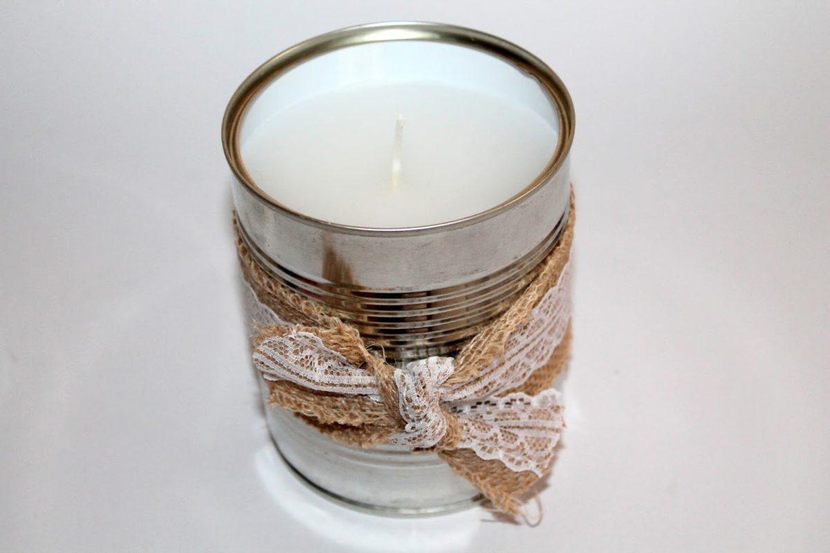 DIY Citronella Kerzen - der perfekte Mückenschutz! Keine Lust mehr auf Mücken? Mit dieser Bastelidee klappt es!