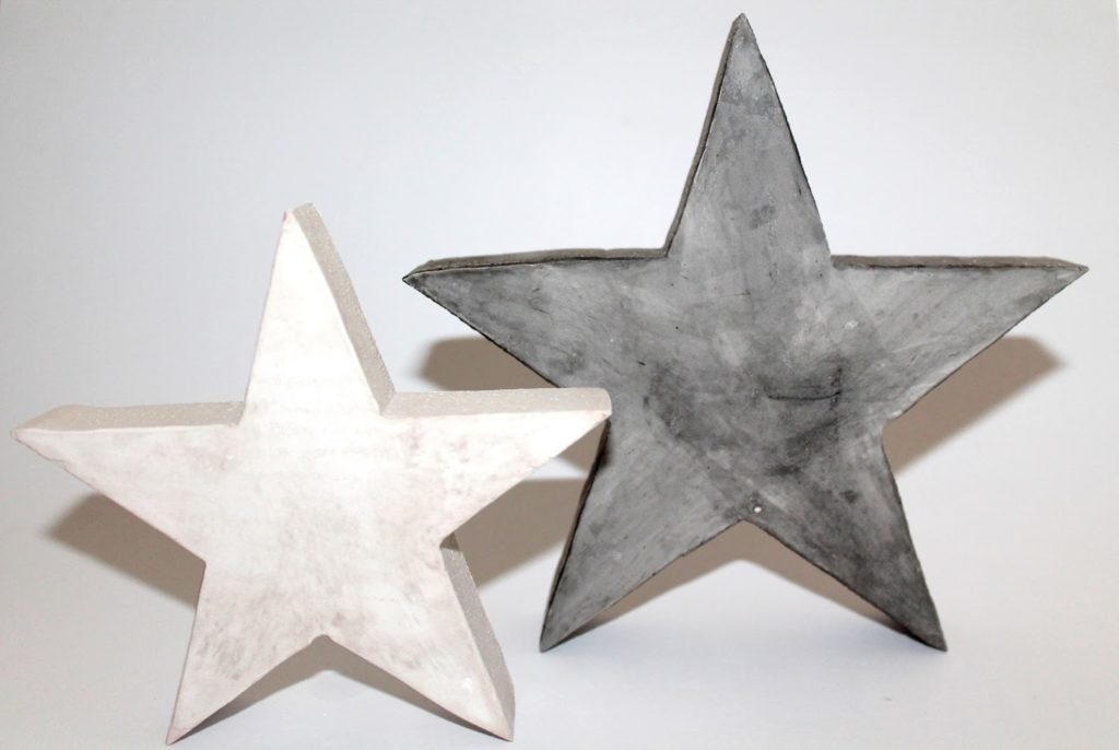 Diy Gips Beton Sterne Einfach Gießen Selbermachen