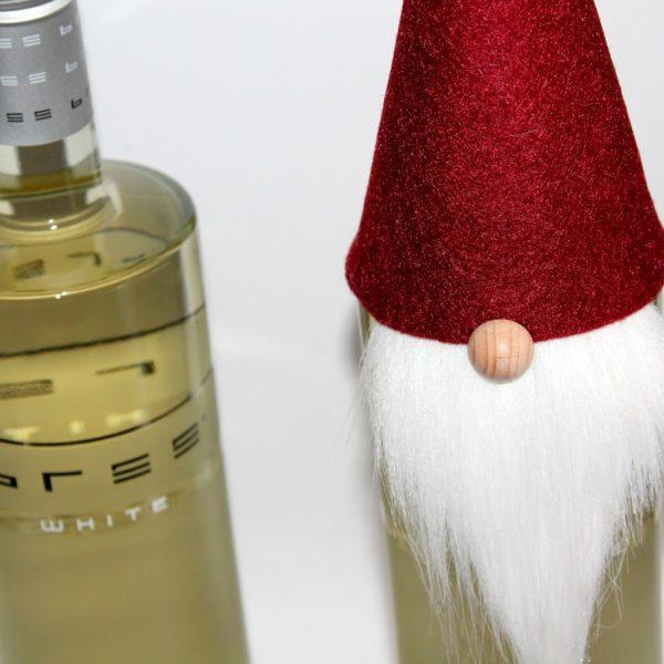 DIY Weinflaschenhut - Weihnachtswichtel selber machen / Weihnachtszeit ist Geschenkezeit