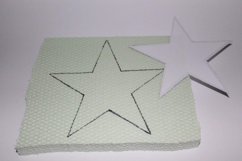 DIY Gips Beton Sterne einfach gießen selbermachen ...