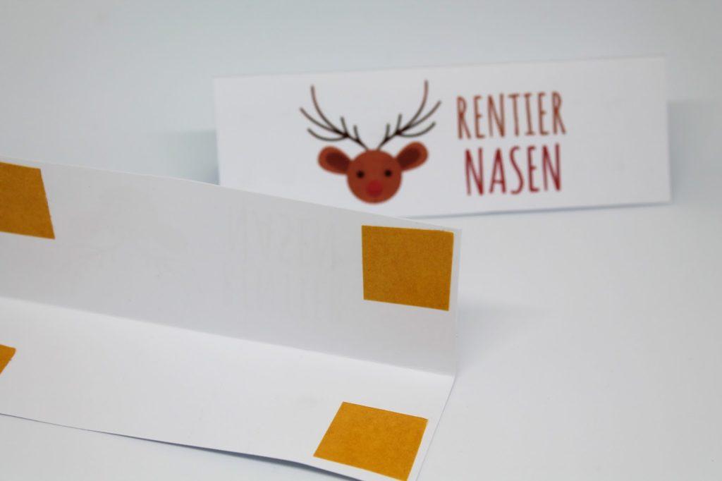 DIY, Basteln: Geschenk Rentiernasen in Adventskalender, Mitbringsel, Weihnachtsgeschenk und Geschenkideen - DIYCarinchen