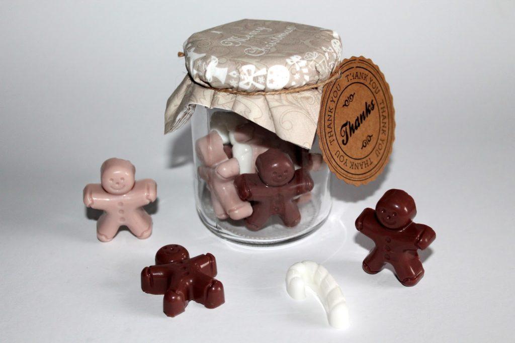 DIY, Basteln: Seife als Lebkuchenmänner und Zuckerstangen als Geschenkidee, Weihnachtsgeschenke, Kosmetik und Beauty - DIYCarinchen