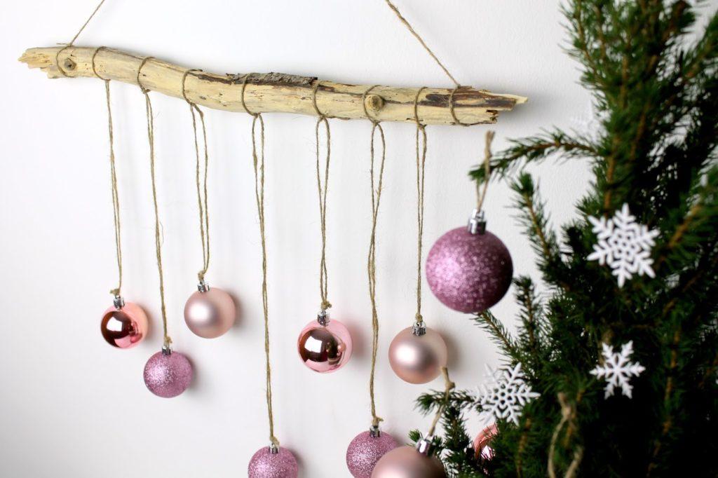 DIY, Basteln: weihnachtliche Wanddeko aus Treibholz, Dekoration, Weihnachtsdekoration und Geschenkideen - DIYCarinchen