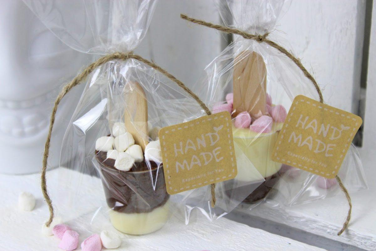 DIY Trinkschokolade am Stiel ganz einfach selber machen