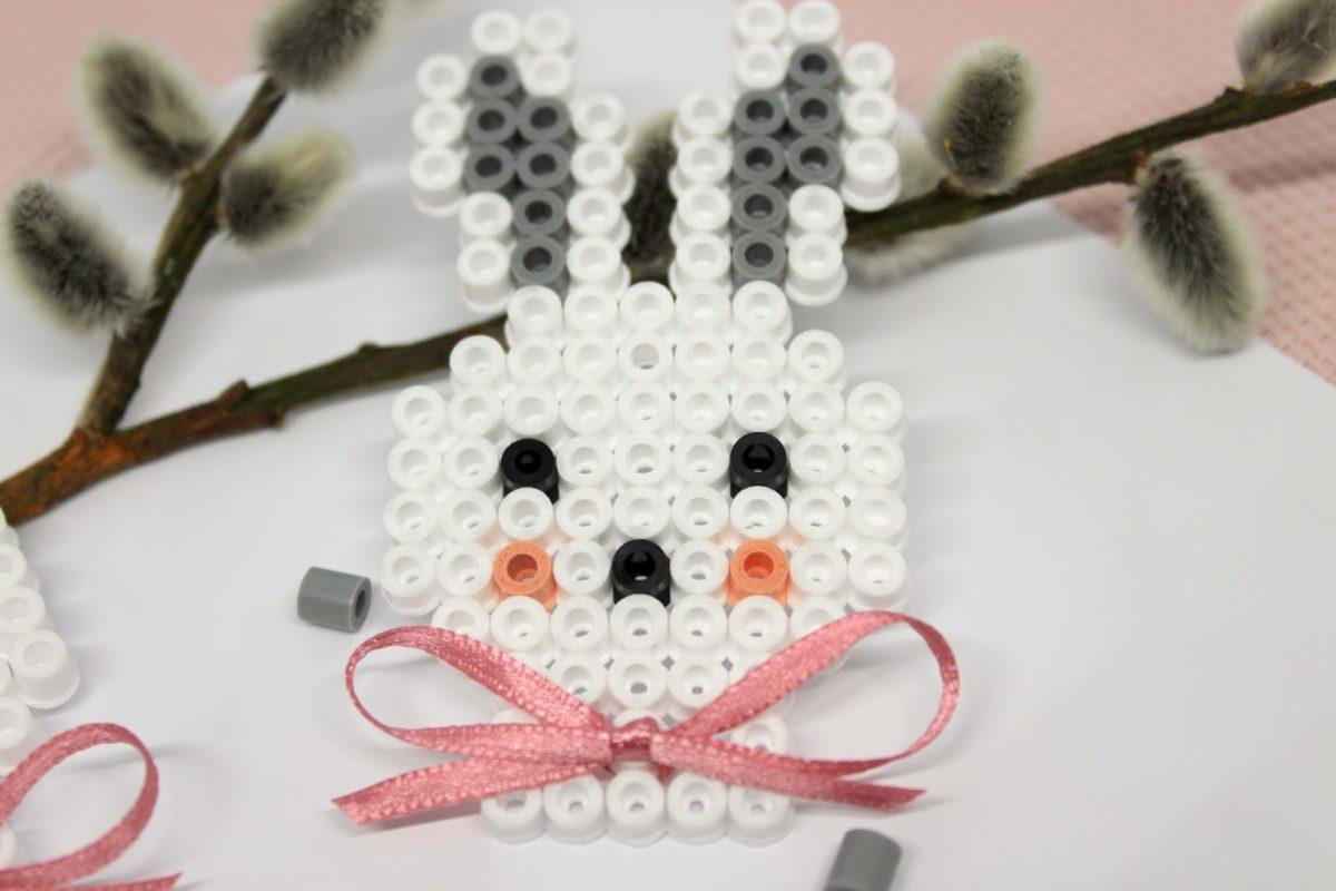 Bugelperlen Kaninchen Perler Beads Easter 11