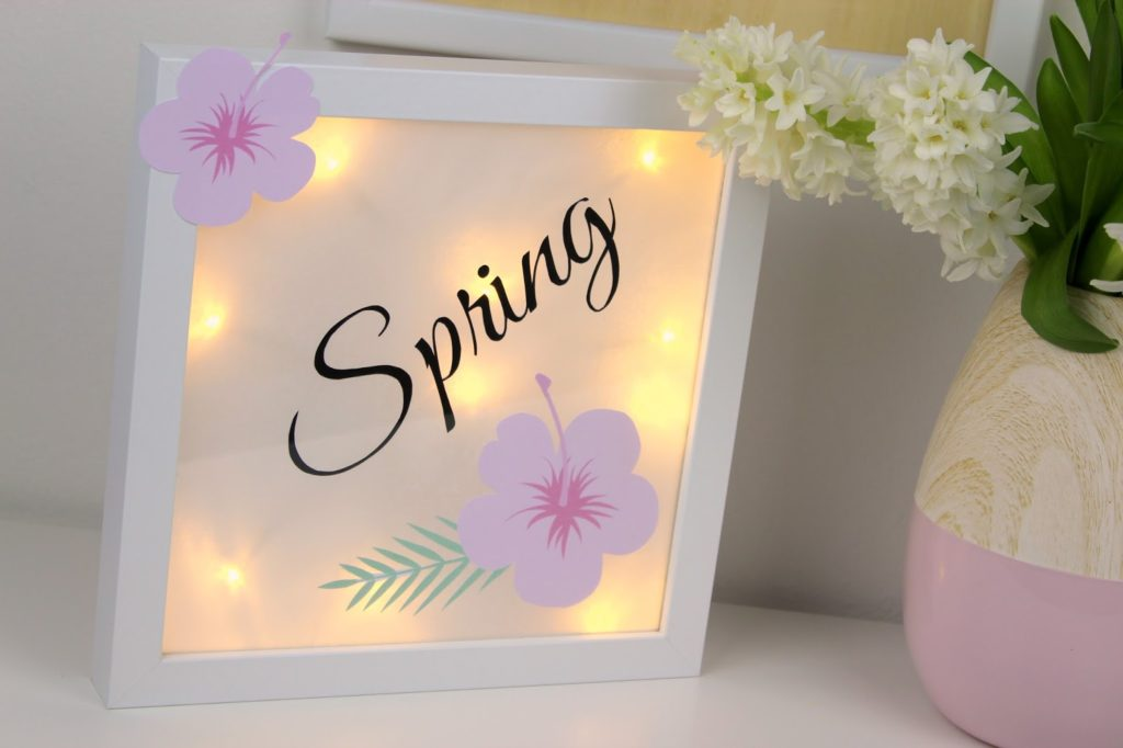DIY Lightbox / Lichterbox ganz einfach selbermachen - immer eine tolle Dekoration
