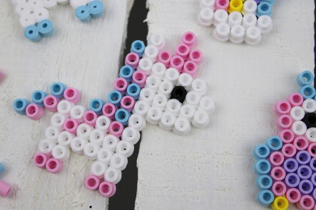 DIY Hama Bügelperlen Einhorn, Regenbogen und Eulen Kühlschrankmagnete ganz einfach selber machen