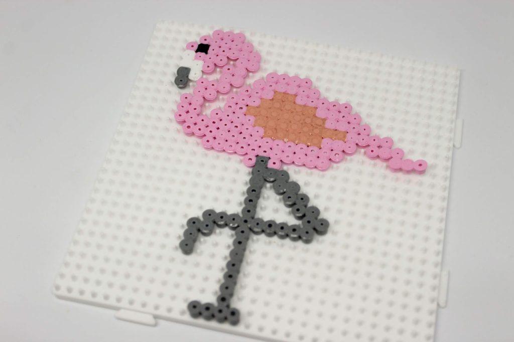 DIY: 3 geniale, schnelle und einfache Flamingo Bastelideen - Bügelperlen Flamingo