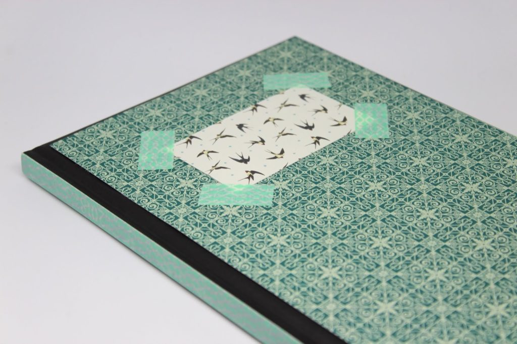 Upcycling Kalender mit Washi Tape - DIY: 5 coole und schnelle DIYs mit Washi Tape - perfekt für den kreativen Arbeitsplatz oder für den Schulanfang