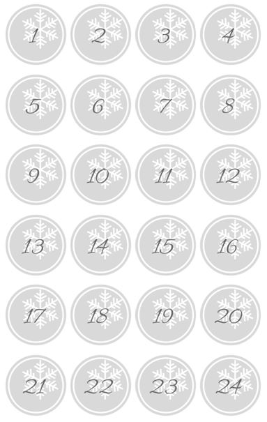 DIY kostenlose Adventskalender Zahlen als PDF zum Ausdrucken - mein Weihnachtsgeschenk für euch