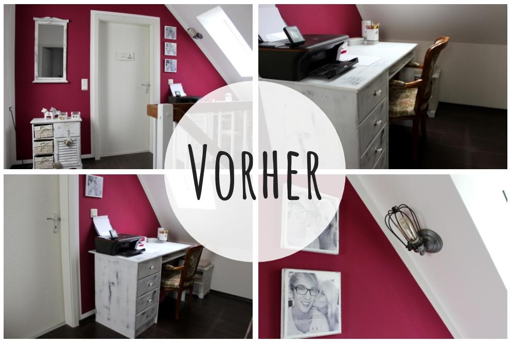 DIY: Flur Make Over inklusive Vorher Nachher - mit neuer Wandfarbe in Schimmer-Optik