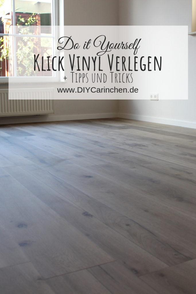 DIY: Klick Vinyl richtig verlegen - mit ausführlicher Anleitung + Tipps und Tricks