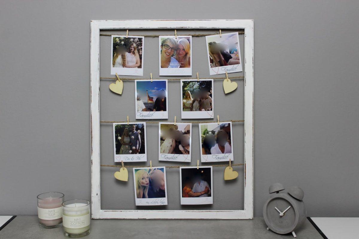 Bilderrahmen Polaroid