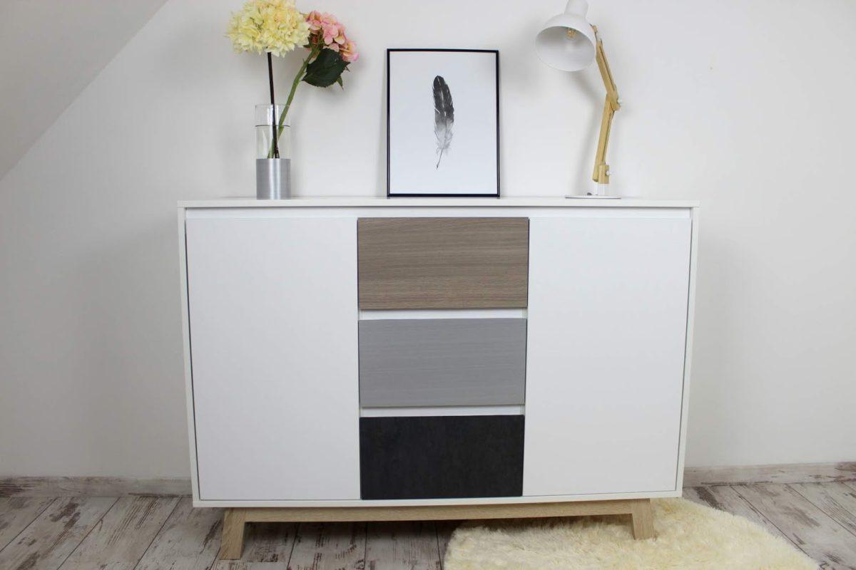 Schrank, Möbelfolie, kleben