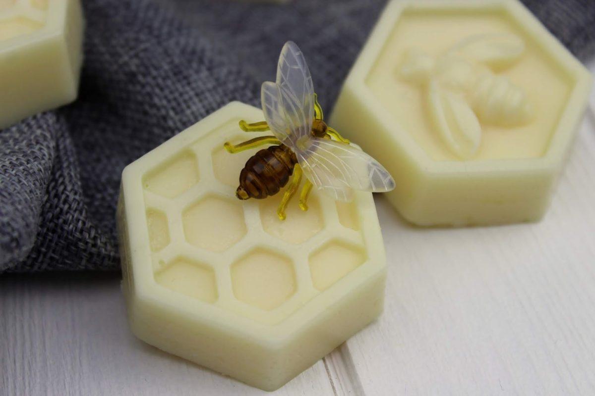 Bienenwachsseife, Seife, Bienen