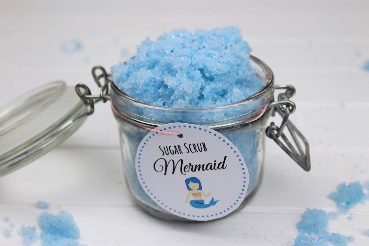 Sugar Scrub, Zuckerpeeling, Mermaid