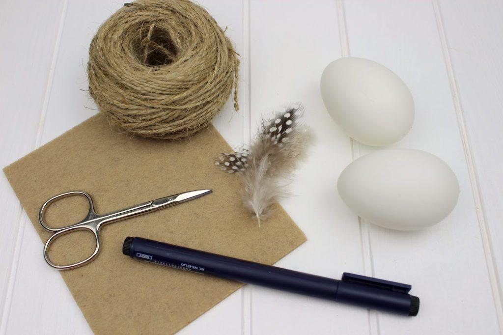 DIY: 2 schnelle und einfache Bastelideen Ostereier schlicht zu gestalten - Ostereier bemalen war gestern