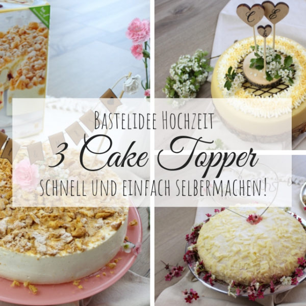 Cake Topper, Torten Schmuck, Deko