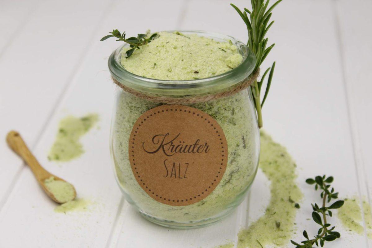 Salz, Bärlauch, Bärlauch-Salz, Geschenk