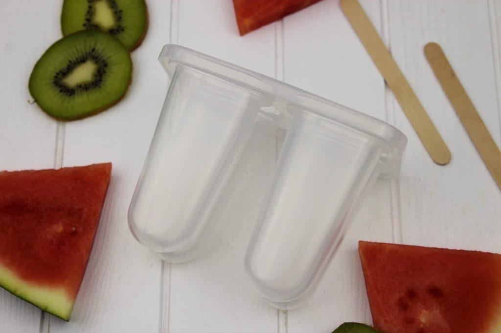 Rezept - Wassermelone-Kiwi Eis schnell und einfach selber machen - perfekt für den Sommer