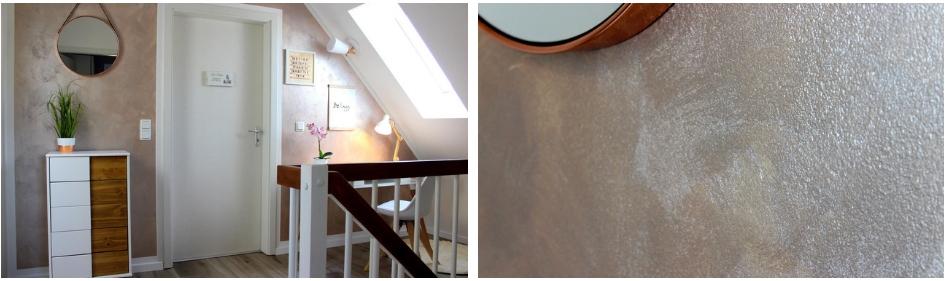 DIY - Wandgestaltung in Beton-Optik Kein Problem mit dieser Anleitung klappt es ganz leicht!