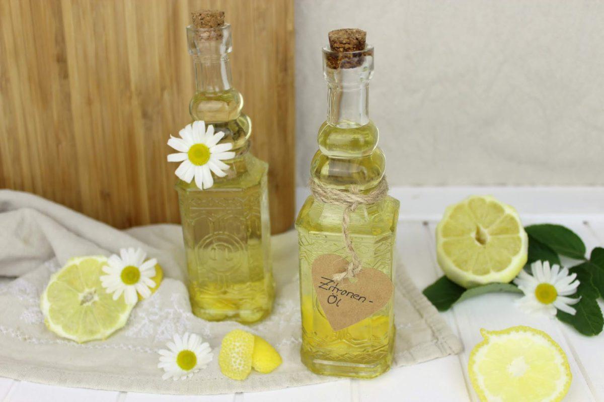Öl, Zitronenöl, Zitrone