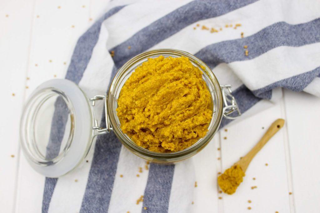 Rezept - grober Senf mit Honig selber machen - so einfach und schnell geht es