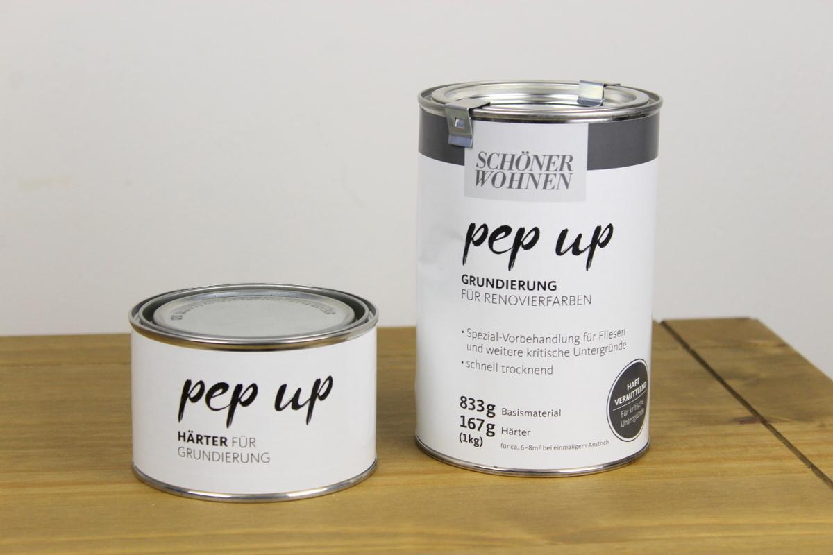 Upcycling Kommode, weiß gestrichen