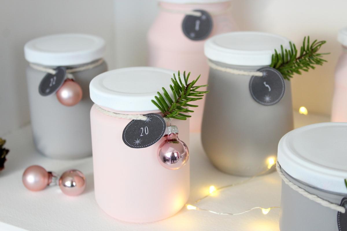 Kommode mit Kreidefarbe gestrichen und weihnachtliche DIYs