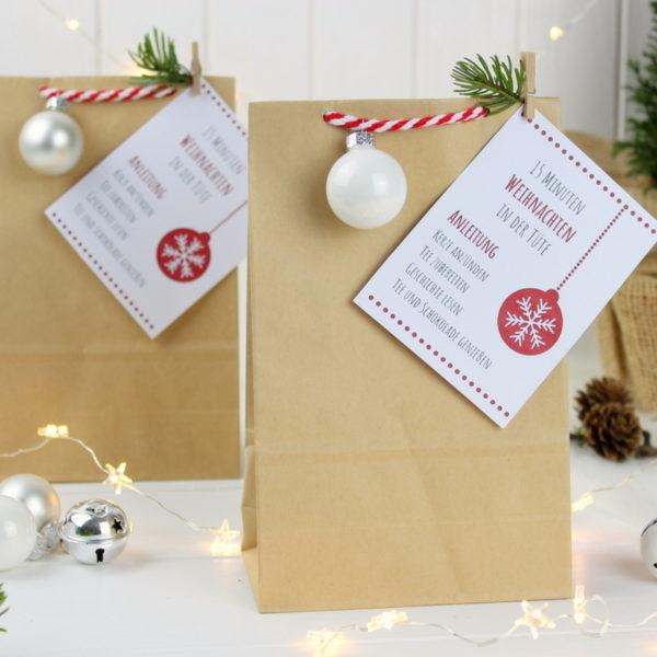 15 Minuten Weihnachten in der Tüte