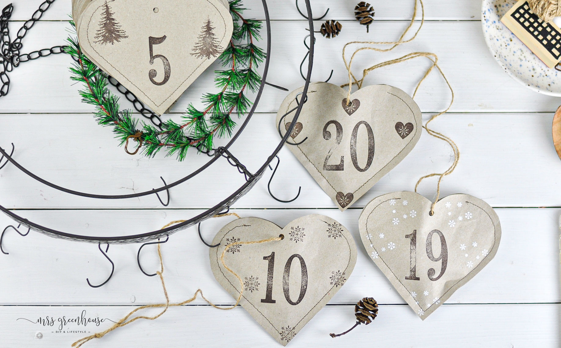 10 Bastelideen für selbstgemachte Adventskalender