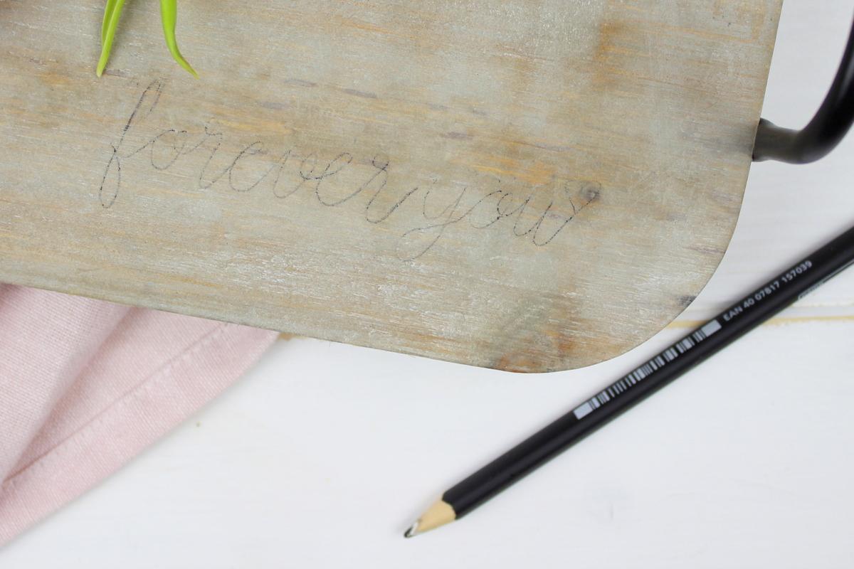 DIY Brandmalerei auf Holz - Geschenk Valentinstag