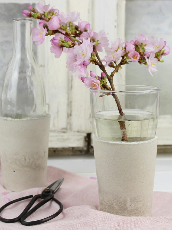 DIY Betonvase selber machen / gießen