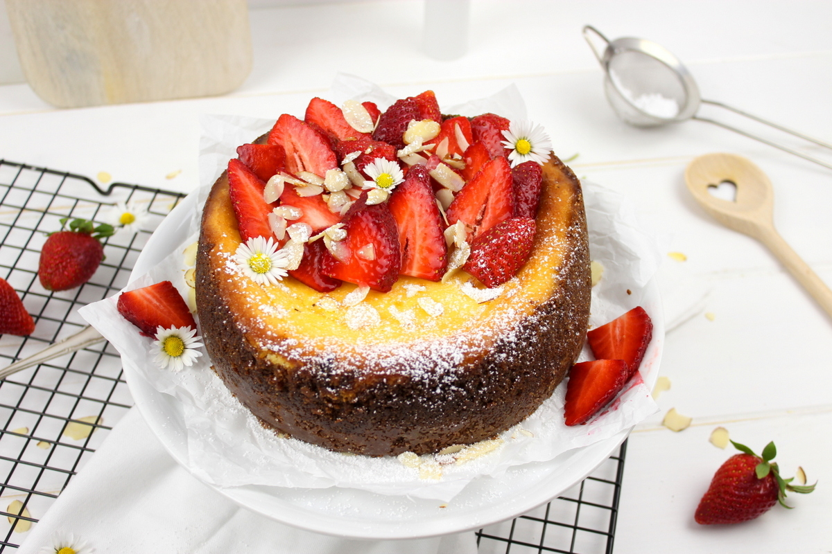 Rezept Erdbeer-Cheesecake