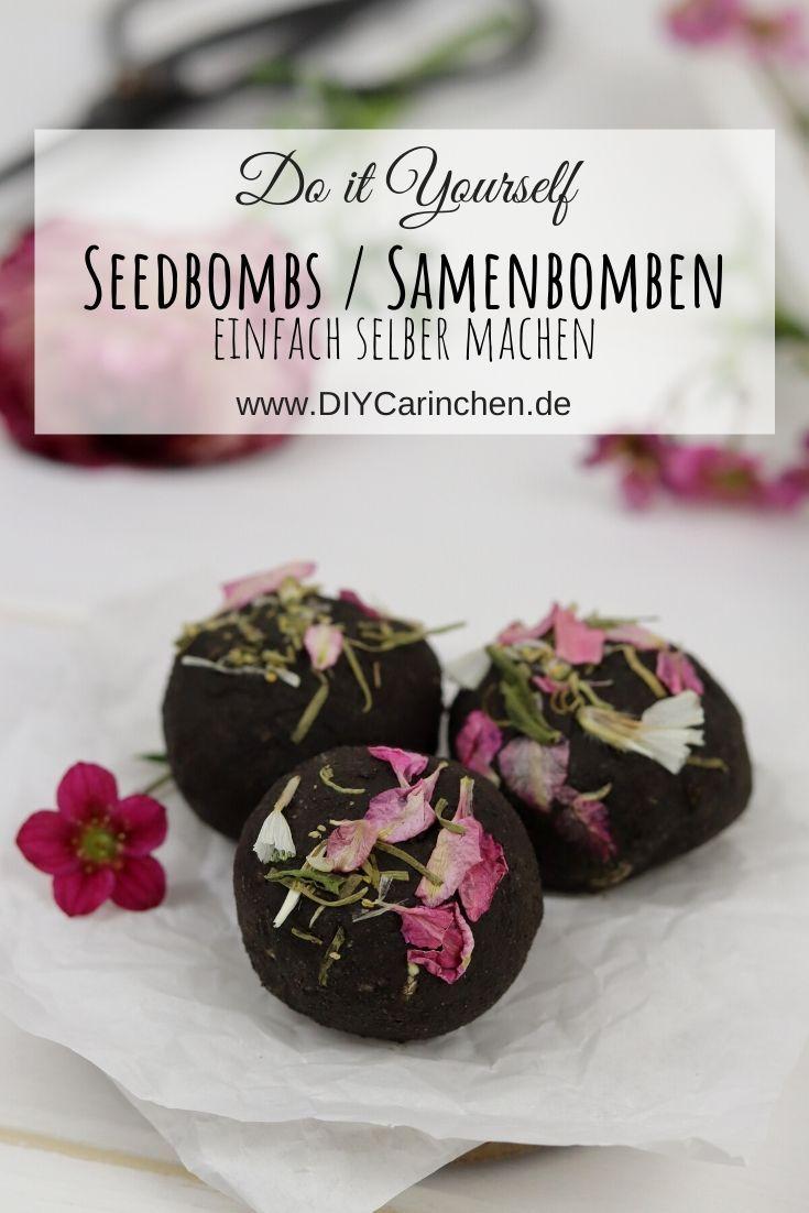 DIY Samenbomben / Seedbombs selbermachen