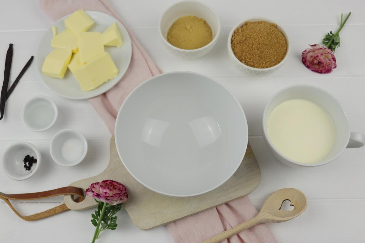 Rezept - Butterscotch Karamellsauce