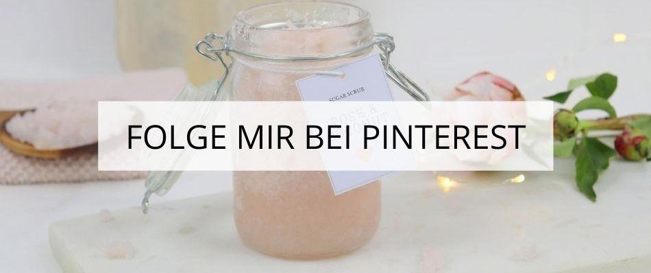DIY Blog Folge mir bei Pinterest